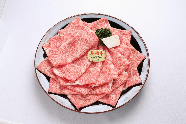 飛騨牛、すき焼き